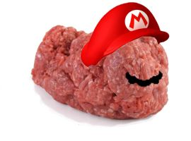 Super Mario Meat by Luneth101