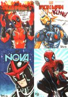 Marvel NOW! sketch cards 3 by mechangel2002