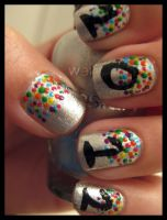 2012 confetti nails by xstdx