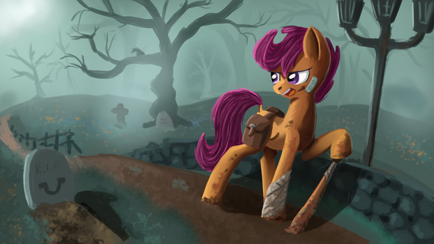 I ain't scared of no zombie by Ailynd