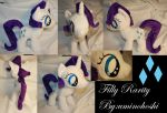 Filly Rarity Plushie [FOR SALE] by Uminohoshi