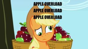 Applejack: OVERLOAD by Closer-To-The-Sun