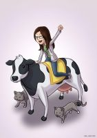 Til the cows come home by taneel