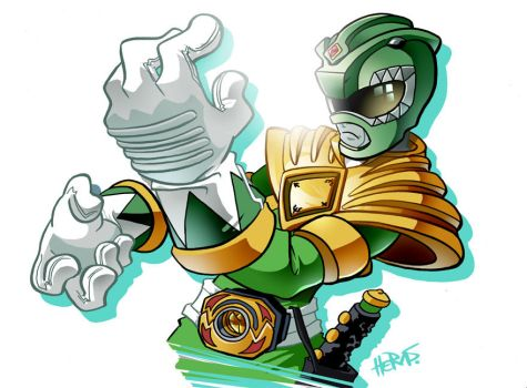Morphin' Green by herms85