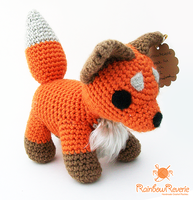 Amigurumi Fox by RainbowReverie