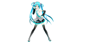 Appearance Miku Hairbun version DL (fixedDL) by asparagusApparatus