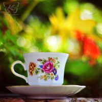 colourful cup by kyokosphotos