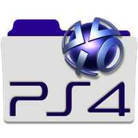 PlayStation 4 Folder Icon by mikromike
