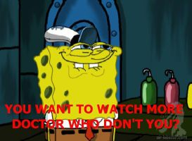 You want to watch more Doctor Who don't you? by Living4Christ11