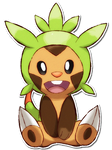 650 Chespin by TrinityWolfDragon