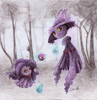 Ghosts by isakimiisa