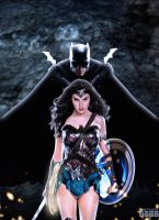 Batman and Wonder Woman by Timetravel6000v2