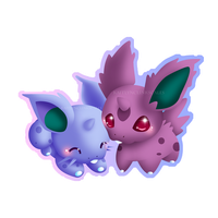 Nidoran by Clinkorz