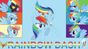 Rainbow Dash Wallpaper by Eelan92