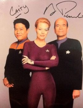 Robert Picardo signed photo by ScaityVengeance