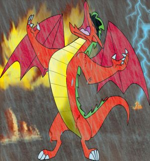 The characters American_dragon__dragon_wars_by_dragonlover50-d3dfkwc