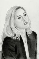 Dr. Delphine Cormier (Graphite Drawing) by julesrizz
