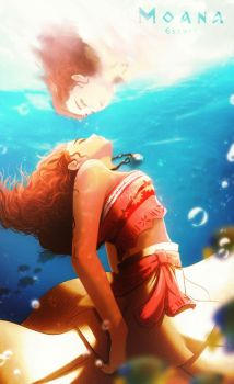 Moana by Esther-Shen