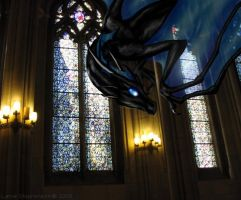 Dragon in a Church by lynne