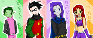 TEEN TITANS 2 by CATGIRL0926