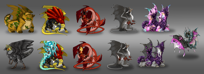 My skin/accent's FlightRising by FanDragonBall