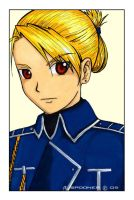 FMA: Riza Hawkeye by Stealthos-Aurion