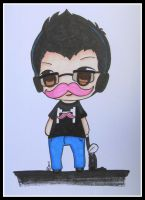 Chibi Markiplier by valaMS