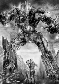 :I AM OPTIMUS PRIME: by Angelstorm-82