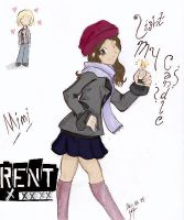 +RENT-Mimi_Light My Candle+ by sango-chan89