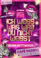 Eventflyer i know what you dont know by homeaffairs