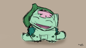 Mega Bulbasaur by MunchingOrange