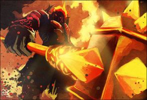 WoW Hand of Ragnaros by Zureul