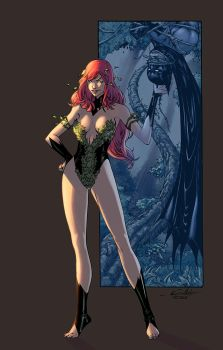 Poison Ivy color by logicfun