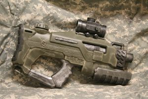 Halo-style Military Rifle by JohnsonArmsProps