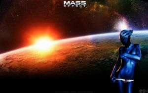 Mass Effect Liara T'soni Asari Wallpaper by energy84
