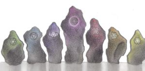 Altar of the Chakras by Spiralpathdesigns