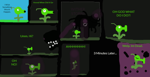 (VORE,Comic) Peashooter Meets the Wither Storm by sotcfan88