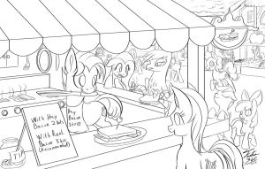 Pan Sizzles Specials_Line Rough by Tsitra360