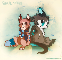 Back spots friends by Endber