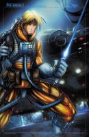 STAR WARS LUKE FIN by RobDuenas