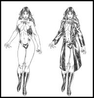Vampirella design by wgpencil