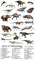 2012 in Paleontology by NTamura