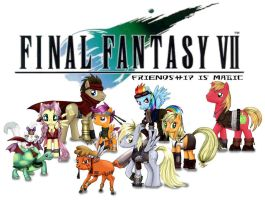 Final Fantasy VII: Friendship is Magic by jaime912