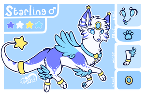 Starling Reference Sheet by Kitsurie