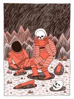 Death in Space by Teagle