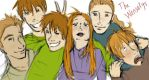 The Weasleys by Qballthe5th