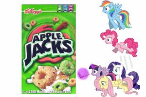 Apple Jacks Cereal by finnfni