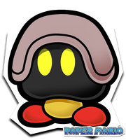 Metalic Goomba PM style by Pokemon-Diamond