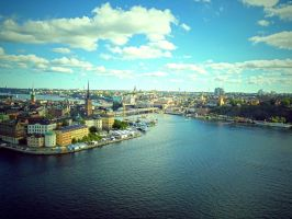 Stockholm in Summer by Owen-B