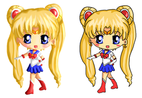 Shiny Sailor Moon for Print by IcyPanther1